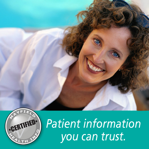 Patient information you can trust